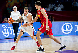 Aigars Skele of Latvia during basketball match between National Teams of Latvia and Montenegro at Day 11 in Round of 16 of the FIBA EuroBasket 2017 at Sinan Erdem Dome in Istanbul, Turkey on September 10, 2017. Photo by Vid Ponikvar / Sportida