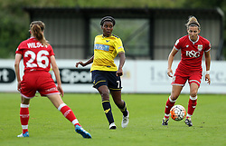 Ini Umotong of Oxford United passes the ball - Mandatory by-line: Robbie Stephenson/JMP - 25/06/2016 - FOOTBALL - Stoke Gifford Stadium - Bristol, England - Bristol City Women v Oxford United Women - FA Women's Super League 2