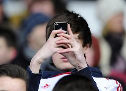 Bristol City Fans - Photo mandatory by-line: Joe Meredith/JMP - Tel: Mobile: 07966 386802 01/04/2013 - SPORT - FOOTBALL - Ashton Gate - Bristol -  Bristol City V Sheffield Wednesday - Npower Championship