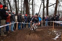 Veerle Goossens, NK Veldrijden Elite-Vrouwen en Amateur-Vrouwen / Dutch Championship Cyclocross Elite Women and Amateur Women at Sint Michielsgestel, Noord-Brabant, The Netherlands, 8 January 2017. Photo by Pim Nijland / PelotonPhotos.com | All photos usage must carry mandatory copyright credit (Peloton Photos | Pim Nijland)