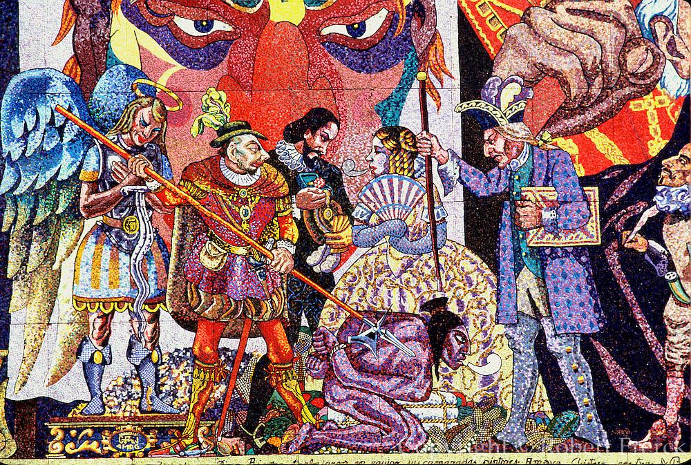 MEXICO, MEXICO CITY, MURALS Diego Rivera mural, Insurgentes Theater