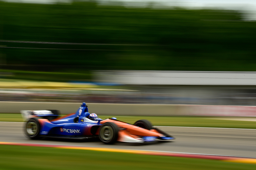 Scott Dixon, Chip Ganassi Racing Honda<br /> Friday 22 June 2018<br /> KOHLER Grand Prix at Road America<br /> Verizon IndyCar Series<br /> Road America WI USA<br /> World Copyright: Scott R LePage