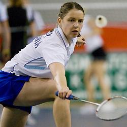 20120204: SLO, Badminton - Maja Tvrdy at Slovenian national championship