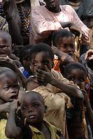 Burkina Faso, Bani, 2007. Boys sing at a Muslim ritual lasting twenty-four hours.