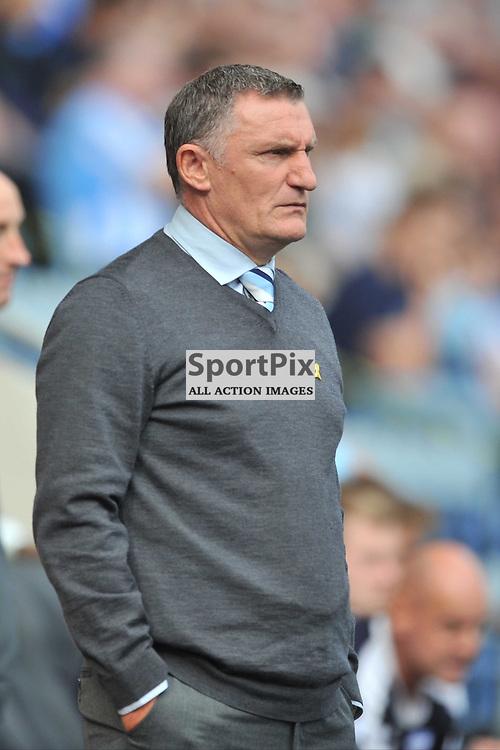 Tony Mowbray, Manager Coventry City, Coventry City v Shreswsbury Ricoh Arena, Football League One, Saturday 3rd October 2015