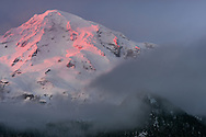 Last Light Delight - Mount Rainier National Park