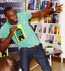 SEP 19 2013 Usain Bolt book signing
