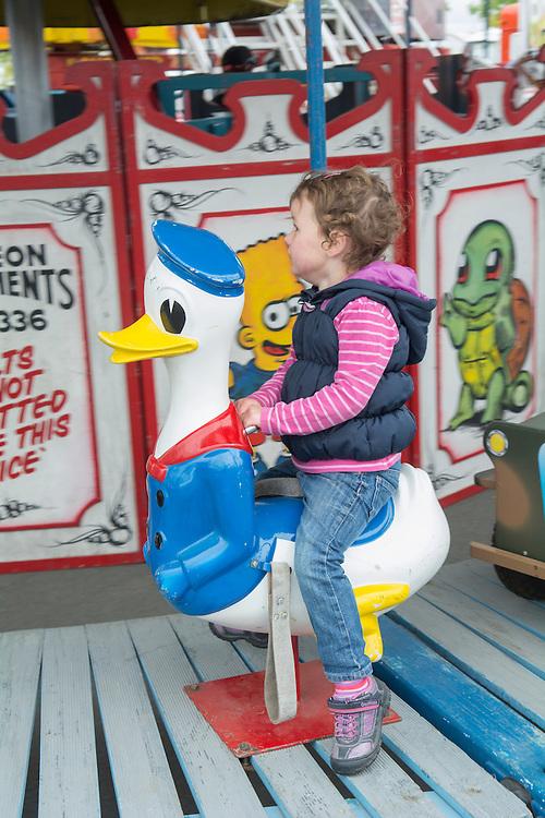 Amusements in the sideshows at the Canterbury A&P Show, Christchurch, New Zealand, November 11, 2015. Credit: SNPA /  David Alexander.