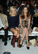 17.SEPTEMBER.2012. LONDON<br /> <br /> KELLY BROOK AND PIXIE LOTT ATTEND THE MARK FAST LFW CATWALK SHOW.<br /> <br /> BYLINE: EDBIMAGEARCHIVE.CO.UK<br /> <br /> *THIS IMAGE IS STRICTLY FOR UK NEWSPAPERS AND MAGAZINES ONLY*<br /> *FOR WORLD WIDE SALES AND WEB USE PLEASE CONTACT EDBIMAGEARCHIVE - 0208 954 5968*