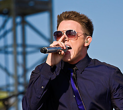 HUNTINGTON BEACH, CA - JUL 24: Singer Jesse McCartney performs at Teen Vogue Fashion Live 2008 event held at the Honda US Open of Surfing on July 24, 2008. Photo by Eduardo E. Silva