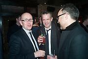 SEAN O'NEILL; DUNCAN GARDHAM; RICHARD ALLEYNE, The Diaries of Fleet Street Fox - book launch party<br /> Century Club, 61-63 Shaftesbury Avenue, London, 18 February 2013