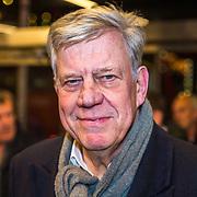 NLD/Rotterdam/20190221 - inloop verjaardagsfeestj Willem van Hanegem, Ivo Opstelten