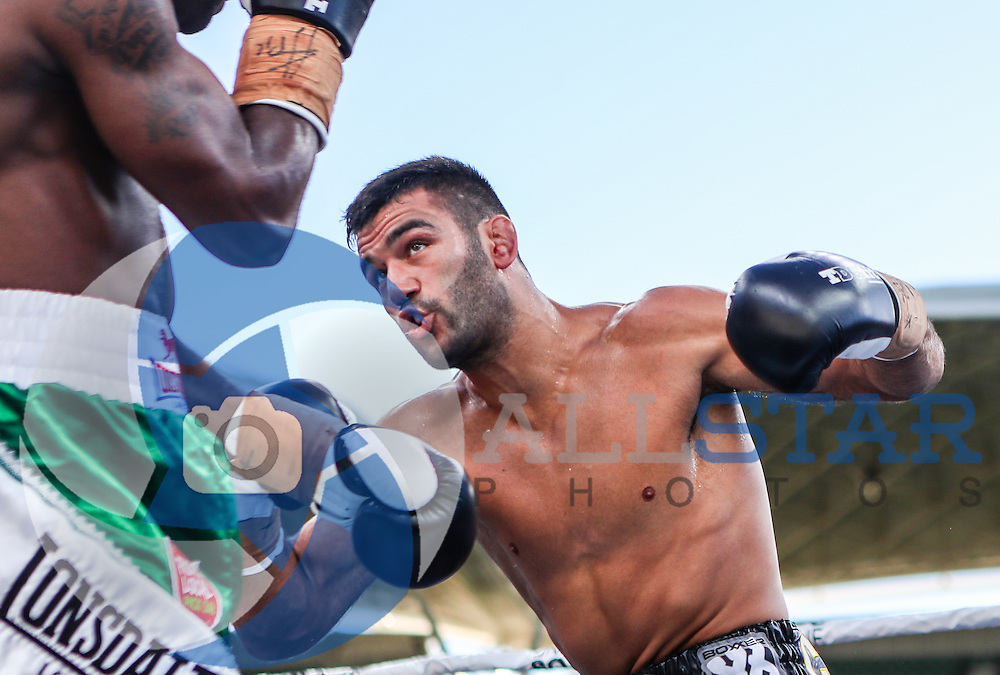 """Boxing Antonio """"The Spartan"""" Caruso vs Friday Nwaiwu at Adelaide Oval"""