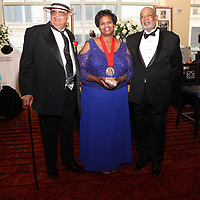 Donald Nicholson, Honoree Karen Jones, Michael Bishop