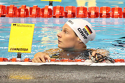 20.08.2014, Europa Sportpark, Berlin, GER, LEN, Schwimm EM 2014, Ruecken, im Bild Lisa Graf (Deutschland) // during the LEN 2014 European Swimming Championships at the Europa Sportpark in Berlin, Germany on 2014/08/20. EXPA Pictures © 2014, PhotoCredit: EXPA/ Eibner-Pressefoto/ Lau<br /> <br /> *****ATTENTION - OUT of GER*****