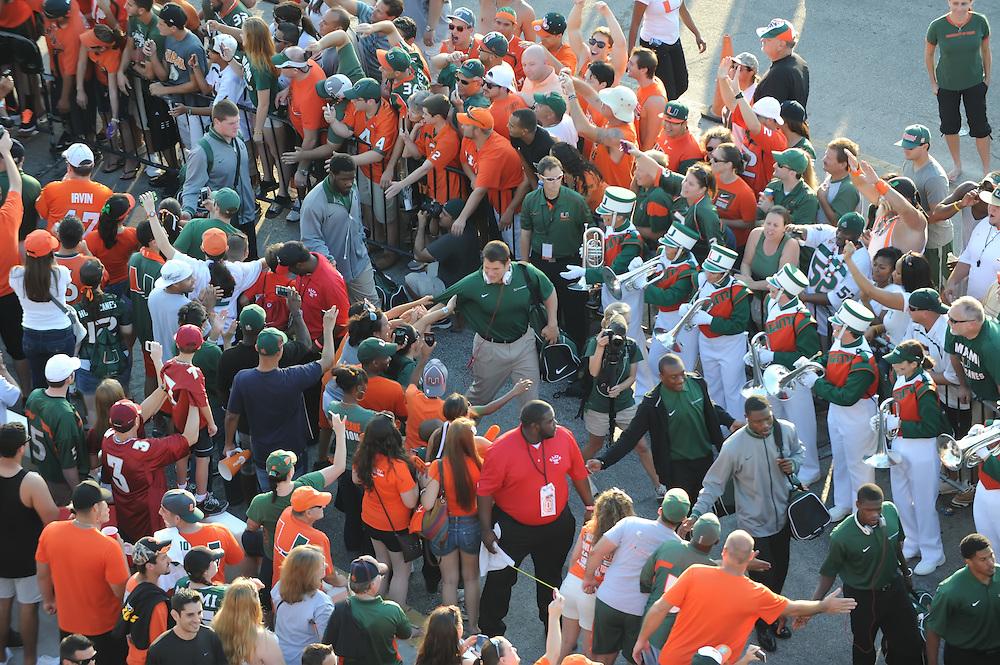 2012 Miami Hurricanes Football vs Florida State