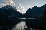 Grand Teton National Park, Jenny Lake, Teton Range, Wyoming