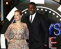 Jessica Chastain, Idris Elba, Molly's Game - UK Premiere, Leicester Square, London UK, 06 December 2017, Photo by Richard Goldschmidt