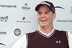 Arrowtown-Golf, Michael Hill Pro Am press conference