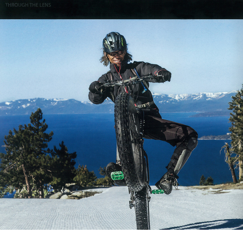 Image: &quot;Lake Tahoe Wheelie&quot;<br />
