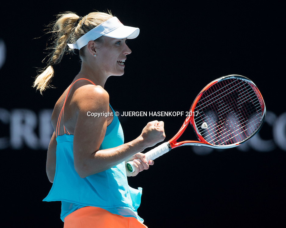 ANGELIQUE KERBER (GER)<br /> <br /> Australian Open 2017 -  Melbourne  Park - Melbourne - Victoria - Australia  - 18/01/2017.