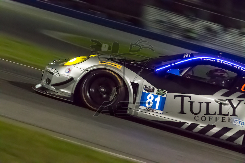 Daytona Beach, FL - Jan 10, 2015:  The Tudor United SportsCar Championship teams take to the track for the The Roar Before The 24 at Daytona International Speedway in Daytona Beach, FL.