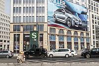 `Advertising on Potsdamerplatz, Berlin, Germany.