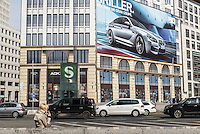 `Advertising on Potsdamerplatz, Berlin, Germany.