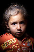 Jordan: Alaa, 6 years old..Syrian refugee children at Za'atri refugee camp in Jordan. Two thirds of all refugees fleeing Syria to Jordan are women and children, incredibly traumatised by the violence they have witnessed in Syria...©JTanner/UNHCR/Dec 2012