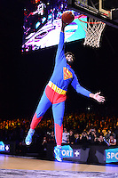 Anthony SMITH - concours de dunks - 03.01.2014 - All Star Game -Paris - Zenith<br />Photo : Dave Winter / Icon Sport