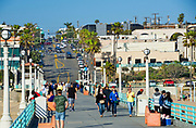 Manhattan Beach Downtown at the Pier