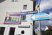 dOCUMENTA (13) in Kassel, Germany..Seidenes Strümpfchen (Silk Stocking) - a rather unusual street name.