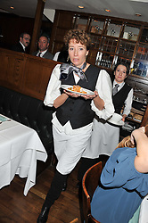 EMMA THOMPSON at One Night Only at The Ivy held at The Ivy, 1-5 West Street, London on 2nd December 2012.