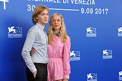 "74 Venice Film Festival ""Lean on Pete"" Photocall. 01 Sep 2017 Pictured: 74 Venice Film Festival ""Lean on Pete"" Photocall, Charlie Plummer, Chloë Sevigny. Photo credit: Pongo / MEGA TheMegaAgency.com +1 888 505 6342"