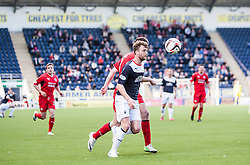 Falkirk's Rory Loy.<br /> Falkirk 2 v 1 Raith Rovers, Scottish Championship game played today at The Falkirk Stadium.<br /> © Michael Schofield.