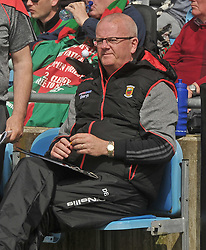 Mayo County Board secretary Dermot Butler at McHale park on sunday last.<br />