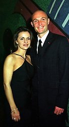 MR & MRS FRANK LEBOEUF, he is the French international footballer, at a concert in London on 30th November 1999.MZO 107