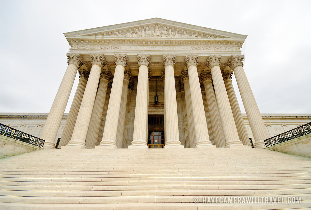 United States Supreme Court building on Capitol Hill, Washington DC