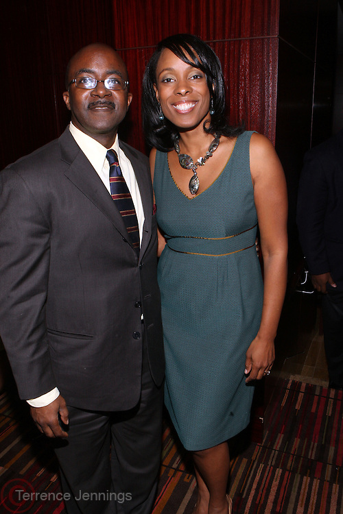 17 November 2010-New York, NY- l to r: Alfred Edmonds, Jr. (Black Enterprise) and Sakina Spruell Cole at 'The Keeping it Rich with Sakina' on BET.com  VIP Launch Party held at The New York Helmsley Hotel on November 17, 2010 in New York City. Photo Credit: Terrence Jennings