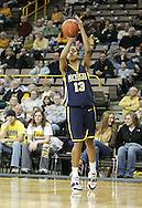 08 February 2007: Michigan forward Stephany Skrba (13) in Iowa's 66-49 win over Michigan at Carver-Hawkeye Arena in Iowa City, Iowa on February 8, 2007.