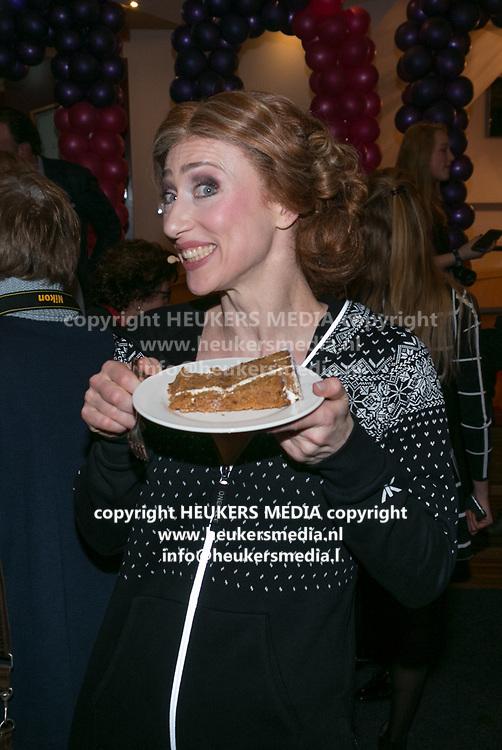 2018-03-10. Schouwburg het Park, Hoorn. 100ste My Fair Lady. Op de foto: Esther van Boxtel