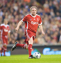 LIVERPOOL, ENGLAND - Thursday, May 14, 2009: Liverpool Legends' Ray Houghton during the Hillsborough Memorial Charity Game at Anfield. (Photo by David Rawcliffe/Propaganda)
