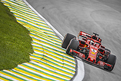 November 9, 2018 - Sao Paulo, Brazil - 05 VETTEL Sebastian (ger), Scuderia Ferrari SF71H, action during the 2018 Formula One World Championship, Brazil Grand Prix from November 08 to 11 in Sao Paulo, Brazil -  FIA Formula One World Championship 2018, Grand Prix of Brazil World Championship;2018;Grand Prix;Brazil  (Credit Image: © Hoch Zwei via ZUMA Wire)