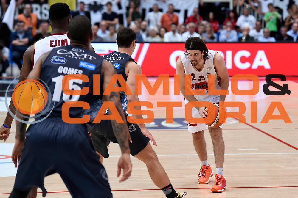 Ariel Filloy<br /> Dolomiti Energia Aquila Basket Trento - Umana Reyer Venezia<br /> Lega Basket Serie A 2016/2017<br /> Playoff, finale gara 4<br /> Trento, 16/06/2017<br /> Foto M.Ceretti / Ciamillo-Castoria