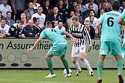 Nederland, Groesbeek, 10-8-2013Achilles 29 - FC Dordrecht. Frank Hol. Publiek op de tribune bekijkt zijn actie.Foto: Flip Franssen/Hollandse Hoogte