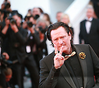 Actor Michael Madsen at the Palme d'Or  Closing Awards Ceremony red carpet at the 67th Cannes Film Festival France. Saturday 24th May 2014 in Cannes Film Festival, France.