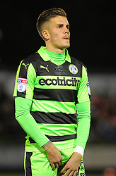 Charlie Cooper of Forest Green Rovers- Mandatory by-line: Nizaam Jones/JMP - 22/09/2017- FOOTBALL - New Lawn Stadium - Nailsworth, England - Forest Green Rovers v Swindon Town - Sky Bet League Two