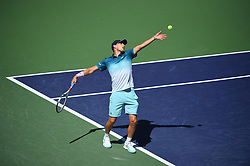 Dominic Thiem (AUT) during his semi final round match at the 2018 Indian Wells Masters 1000 at Indian Wells Tennis Garden, California, USA, on March, 16, 2019. Photo by Corinne Dubreuil/ABACAPRESS.COM