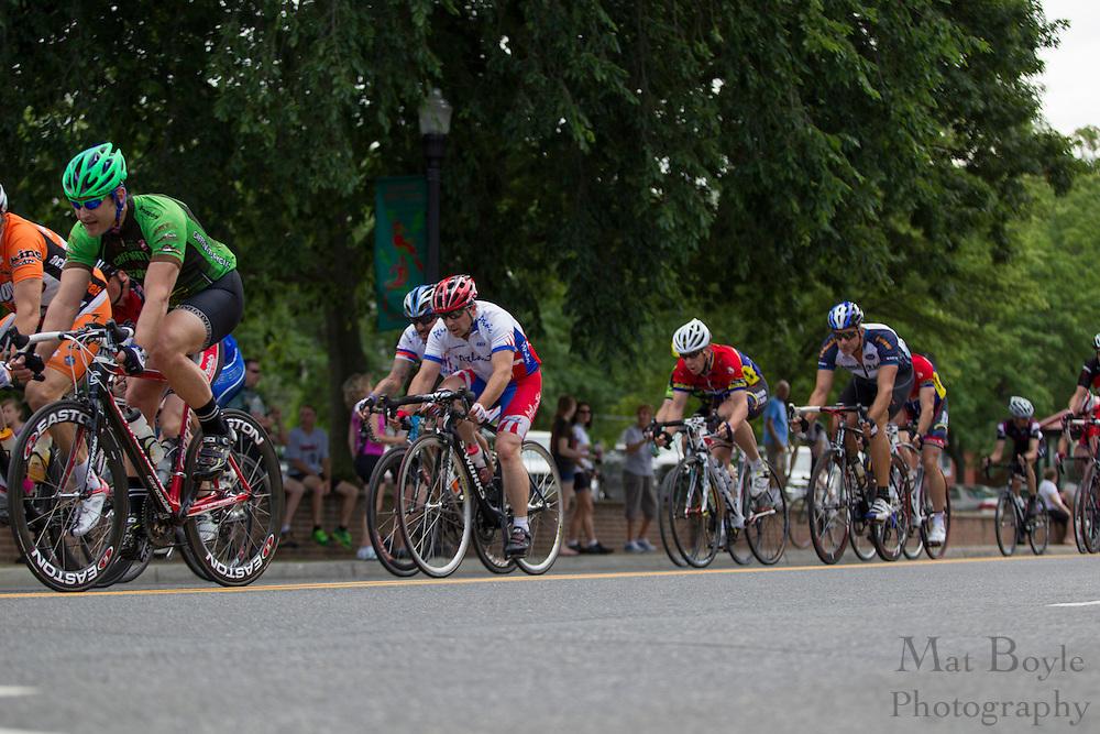 2012 June 9: Pitman, NJ:  Third annual Bob Riccio Tour De Pitman - 35 + master's race. (photo / Mat Boyle)