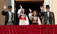 The Royal family celebrate National Day in Norway.